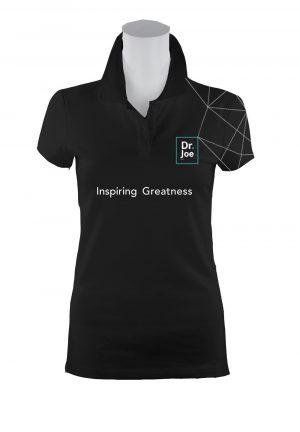 Dr Joe t-shirt-w slogan-lines